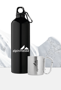 Alpinmesse_Bottle und Cup